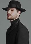 Шляпа CHRISTYS арт. COUNTY cso100020 (черный)